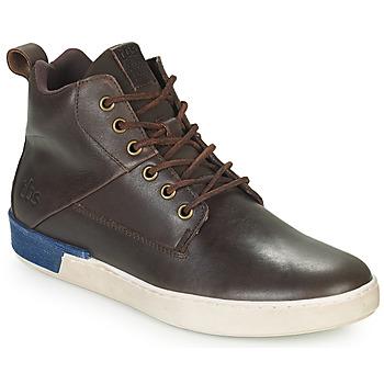 Παπούτσια Άνδρας Ψηλά Sneakers TBS SANDJAY Brown