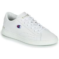 Παπούτσια Γυναίκα Χαμηλά Sneakers Champion COURT CLUB PATCH Άσπρο / Beige