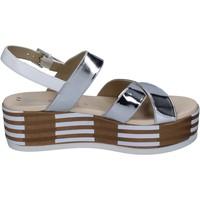 Παπούτσια Γυναίκα Σανδάλια / Πέδιλα Tredy's Σανδάλια BN750 Ασήμι