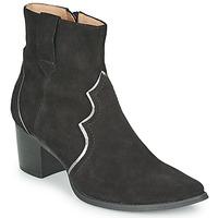 Παπούτσια Γυναίκα Μποτίνια Karston APLAX Black