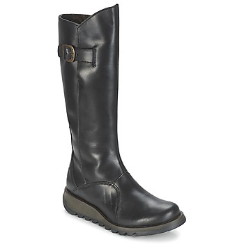 Παπούτσια Γυναίκα Μπότες για την πόλη Fly London MOL 2 Black