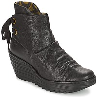 Παπούτσια Γυναίκα Χαμηλά Sneakers Fly London YAMA Μαυρο