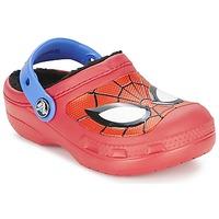 Παπούτσια Αγόρι Σαμπό Crocs SPIDERMAN LINED CLOG Κοκκινο