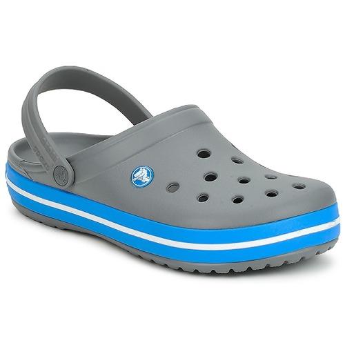 Crocs CROCBAND Grey   Ocean - Δωρεάν Αποστολή στο Spartoo.gr ... 019f45ca695