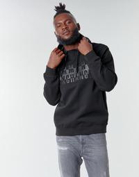Υφασμάτινα Άνδρας Φούτερ Armani Exchange 6HZMFK Black