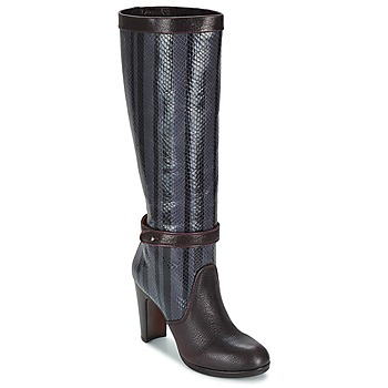 Παπούτσια Γυναίκα Μπότες για την πόλη Chie Mihara NERVE Aubergine