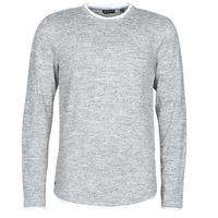 Υφασμάτινα Άνδρας Μπλουζάκια με μακριά μανίκια Deeluxe MOHANSON Grey