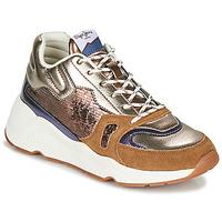 Παπούτσια Γυναίκα Χαμηλά Sneakers Pepe jeans HARLOW SPACE Bronze