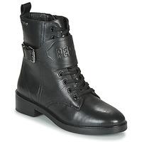 Παπούτσια Γυναίκα Μπότες Pepe jeans MALDON LOGO Black