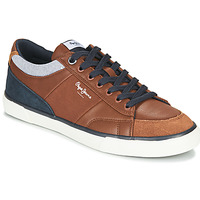 Παπούτσια Άνδρας Χαμηλά Sneakers Pepe jeans KENTON SPORT Brown