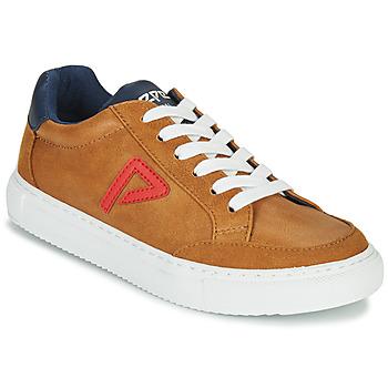 Παπούτσια Αγόρι Χαμηλά Sneakers Pepe jeans ADAM ARCHIVE Camel