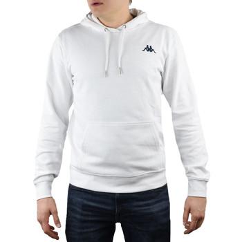 Υφασμάτινα Άνδρας Φούτερ Kappa Vend Hooded Blanc