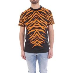 Υφασμάτινα Άνδρας T-shirt με κοντά μανίκια Versace B3GVB7DF-30377 Nero
