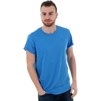 T-shirt με κοντά μανίκια G-Star Raw SHELO R T SS ELECTRIC BLUE [COMPOSITION_COMPLETE]