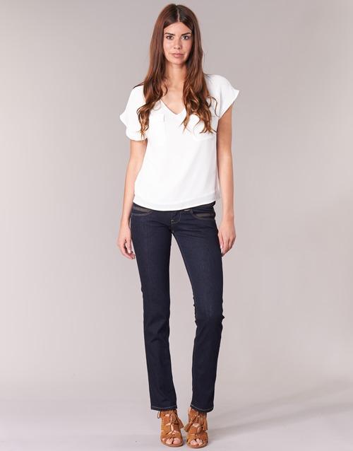 Υφασμάτινα Γυναίκα Τζιν σε ίσια γραμμή Pepe jeans VENUS Μπλέ / M15