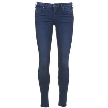 Υφασμάτινα Γυναίκα Κοντά παντελόνια Pepe jeans LOLA μπλέ / Brut