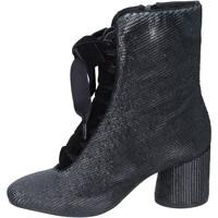 Παπούτσια Γυναίκα Μποτίνια Elvio Zanon BM12 Μαύρος