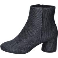 Παπούτσια Γυναίκα Μποτίνια Elvio Zanon BM13 Μαύρος