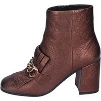 Παπούτσια Γυναίκα Μποτίνια Elvio Zanon BM15 καφέ