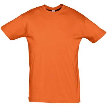 Υφασμάτινα Άνδρας T-shirt με κοντά μανίκια Sols REGENT COLORS MEN Naranja