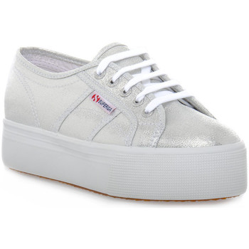 Xαμηλά Sneakers Superga W01 LAME WEDGE GREY