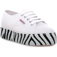 Παπούτσια Γυναίκα Χαμηλά Sneakers Superga 901 OUTSOLE LETTERING Bianco