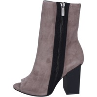 Παπούτσια Γυναίκα Μποτίνια Marc Ellis Μπότες αστραγάλου BM22 Γκρί