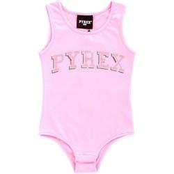 Υφασμάτινα Κορίτσι Αμάνικα / T-shirts χωρίς μανίκια Pyrex 024858 Rosa