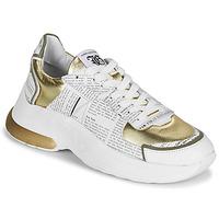 Παπούτσια Γυναίκα Χαμηλά Sneakers John Galliano 3646 Άσπρο / Gold