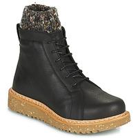 Παπούτσια Γυναίκα Μπότες El Naturalista PIZARRA Black
