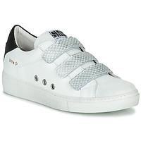 Παπούτσια Γυναίκα Χαμηλά Sneakers Semerdjian VIP Άσπρο / Silver