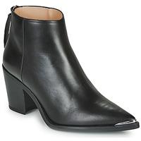 Παπούτσια Γυναίκα Μποτίνια Unisa MIRTE Black