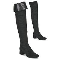 Παπούτσια Γυναίκα Ψηλές μπότες Unisa LUKAS Black