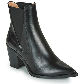 Παπούτσια Γυναίκα Μποτίνια Unisa MUNIS Black