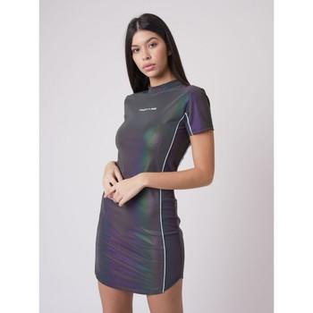 Υφασμάτινα Γυναίκα Κοντά Φορέματα Project X Paris  Grey