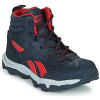 Παπούτσια Αγόρι Χαμηλά Sneakers Reebok Sport RUGGED RUNNER MID Black / Red