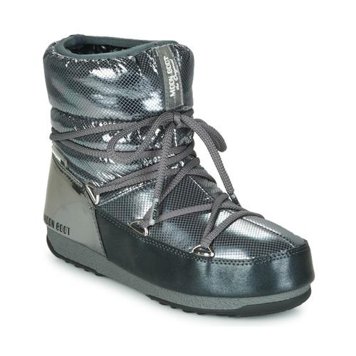 Παπούτσια Γυναίκα Snow boots Moon Boot MOON BOOT LOW SAINT MORITZ WP Grey