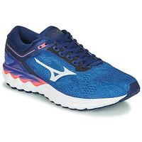 Παπούτσια Άνδρας Τρέξιμο Mizuno WAVE SKY RISE Μπλέ