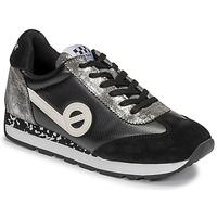 Παπούτσια Γυναίκα Χαμηλά Sneakers No Name CITY RUN JOGGER Black / Άσπρο