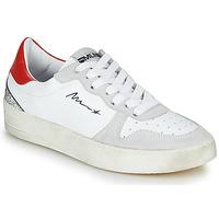 Παπούτσια Γυναίκα Χαμηλά Sneakers Meline STRA5007 Άσπρο / Red