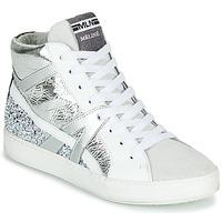 Παπούτσια Γυναίκα Ψηλά Sneakers Meline IN1363 Άσπρο / Argenté