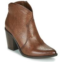 Παπούτσια Γυναίκα Μποτίνια MTNG 50187-C50166 Brown