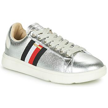Παπούτσια Γυναίκα Χαμηλά Sneakers Superdry VINTAGE TENNIS TRAINER Silver