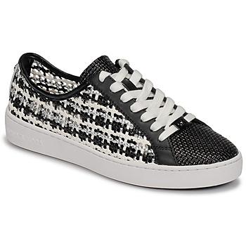 Παπούτσια Γυναίκα Χαμηλά Sneakers MICHAEL Michael Kors OLIVIA LACE UP Black / Άσπρο