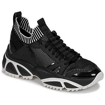 Παπούτσια Άνδρας Χαμηλά Sneakers MICHAEL Michael Kors LUCAS Black / Άσπρο