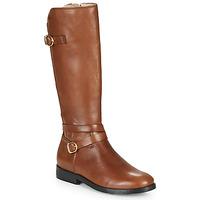 Παπούτσια Κορίτσι Μπότες για την πόλη Acebo's 9863-CUERO-T Brown