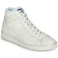 Παπούτσια Ψηλά Sneakers Diadora GAME L HIGH WAXED Άσπρο