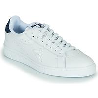 Παπούτσια Χαμηλά Sneakers Diadora GAME L LOW OPTICAL Άσπρο / Μπλέ
