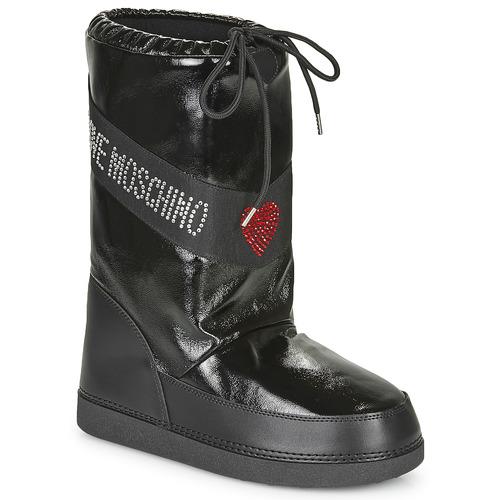 Παπούτσια Γυναίκα Snow boots Love Moschino JA24022G1B Black