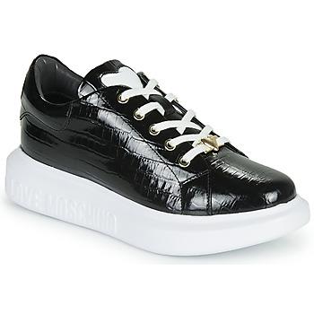 Παπούτσια Γυναίκα Χαμηλά Sneakers Love Moschino JA15494G0B Black